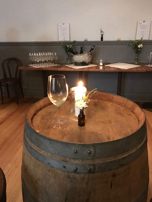 Wine Barrel - Mayfair Lane Meet the Winemaker