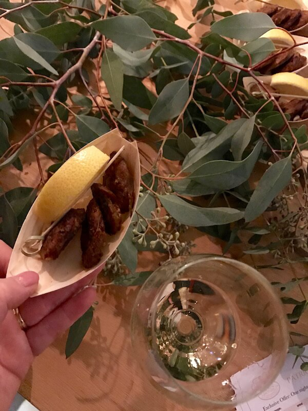 Chorizo & Lemon at Brown Brothers Patricia Launch