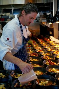 Colin Fassnidge Cooking - Long Lunch at Garrison Albany