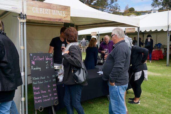 Gilbert Wines - Albany Wine & Food Festival