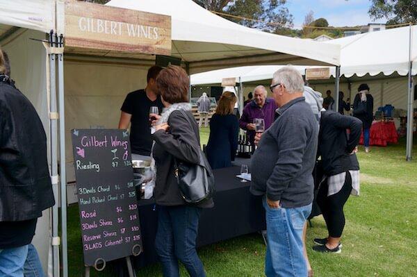 Gilbert Wines - Albany Wine & Food Festival