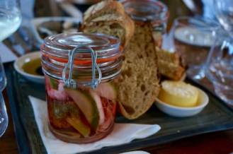 Pickled Vegetables - Long Lunch at Garrison Albany