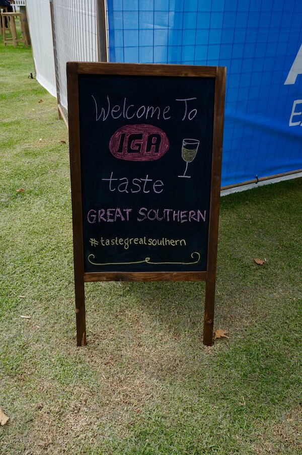 Welcome to IGA Albany Wine & Food Festival