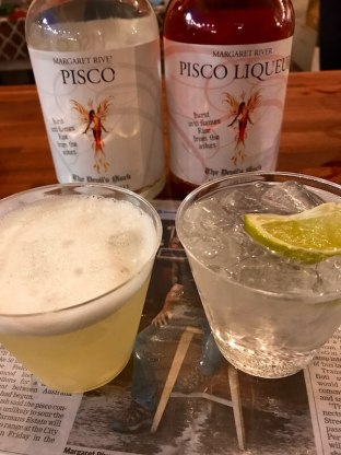 Pisco Cocktails at City Wine 2017
