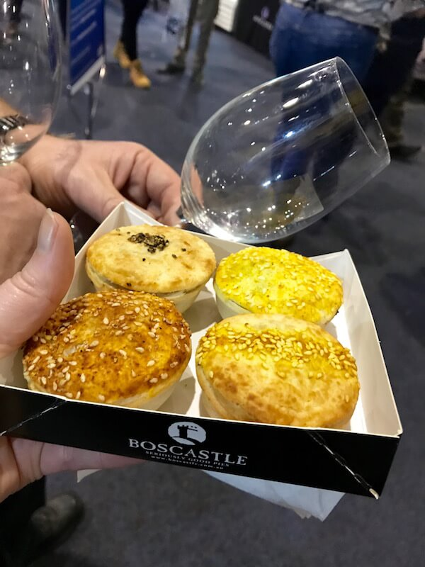 Boscastle Pies at Good Food & Wine Show Perth