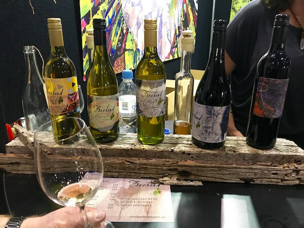 Freehand Wines at Good Food & Wine Show Perth