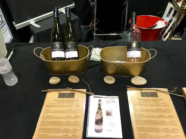 Zarephath Wines at Good Food & Wine Show Perth
