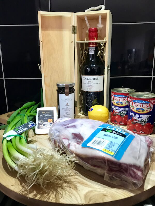 Cooking with Cockburn's Port & Woolworths