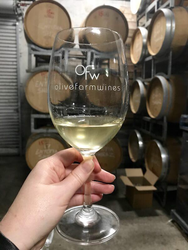 Olive Farm Wines Barrel Sample 2017 Chardonnay