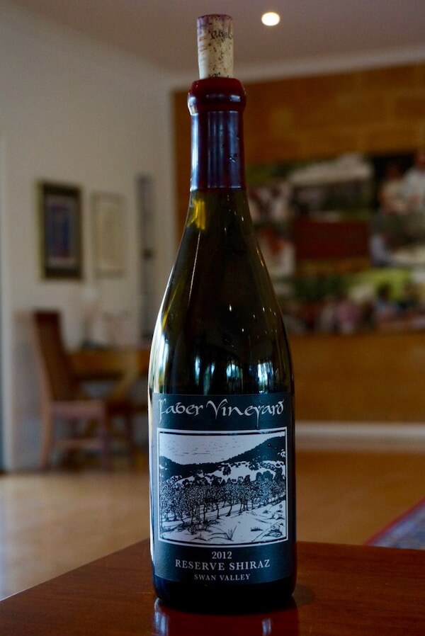 Faber Vineyard 2012 Reserve Shiraz - Swan Valley