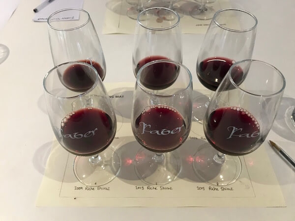 Faber Vineyard 20th Birthday - Shiraz Masterclass