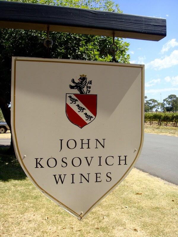 John Kosovich Wines - Swan Valley