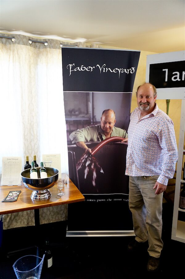 Winemaker John from Faber Vineyard