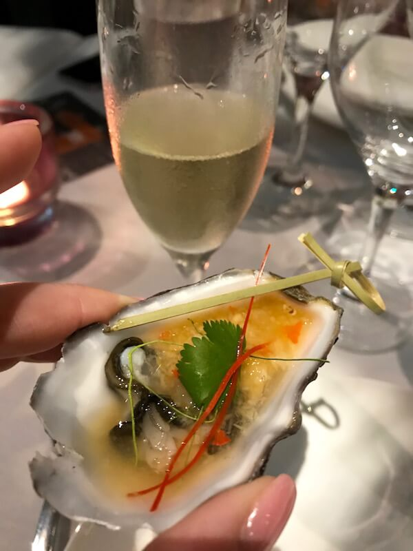 Coffin Bay Oysters - Itsara Thai Restaurant Perth