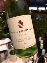 John Kosovich 2015 Bottle Ages Chenin Blanc - Swan Valley