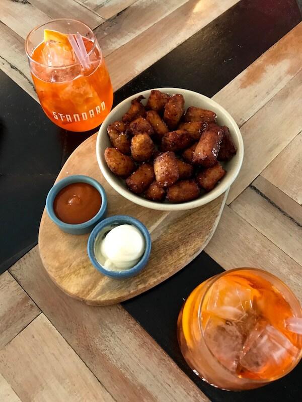 The Standard Perth - Aperol Spritz & Potato Gems