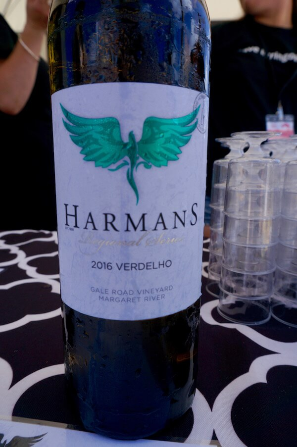 Harmans Estate 2016 Verdelho - Sunset Wine 2018