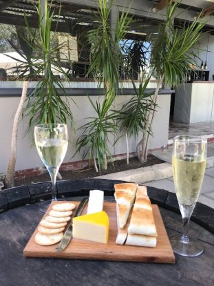 Cheeseboard at Ugly Duckling Wines - Swan Valley