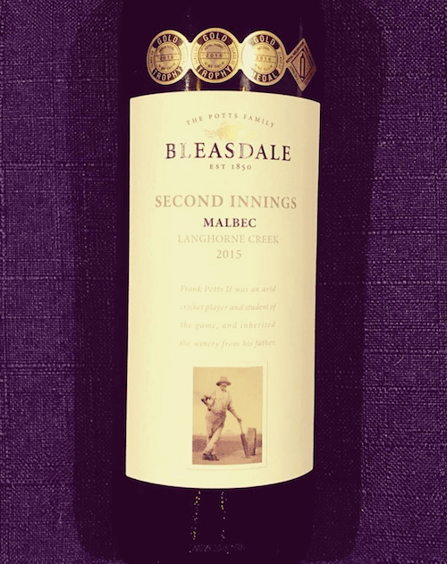 Bleasdale 2015 'Second Innings' Malbec