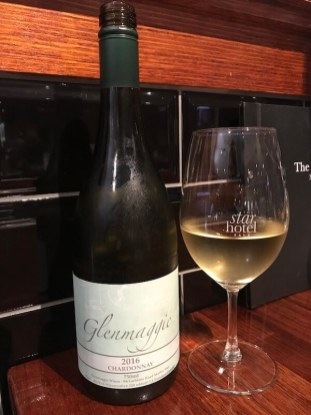 Glenmaggie 2016 Chardonnay at the Star Hotel in Sale Victoria