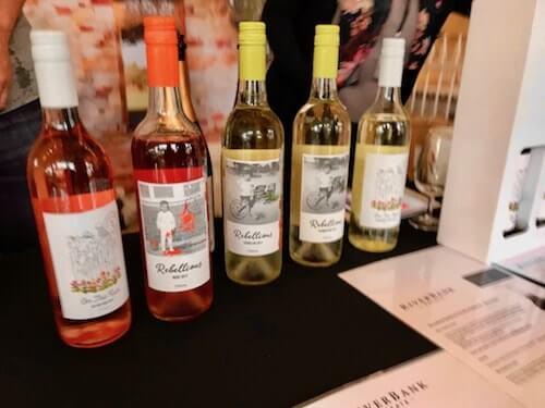 RiverBank Estate wines at City Wine Perth
