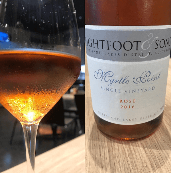 Lightfoot and Sons 2016 Myrtle Point Single Vineyard Rose