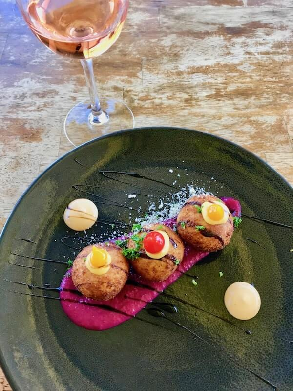 Arancini at Pinelli Winery Restaurant - Swan Valley Perth