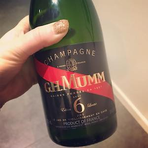 G.H. Mumm Champagne Brut Limited Edition 6 Years