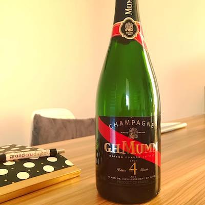 G.H.Mumm Champagne 4 Ans