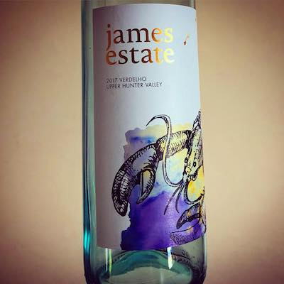 James Estate Verdelho 2017 Upper Hunter Valley