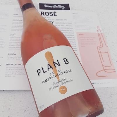 Plan B! Tempranillo Rose 2017