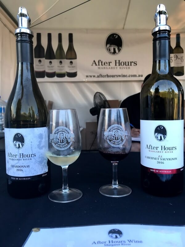 bottle-and-glass-of-after-hours-margaret-river-chardonnay-and-cabernet-sauvignon