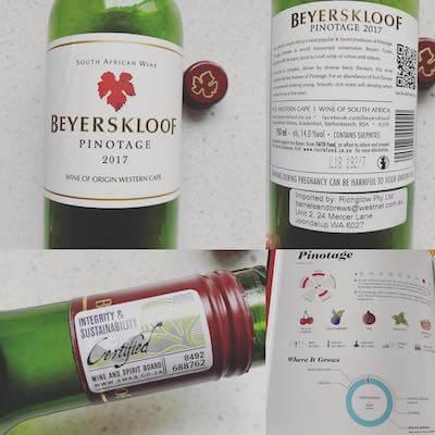 Beyerskloof 2017 Pinotage