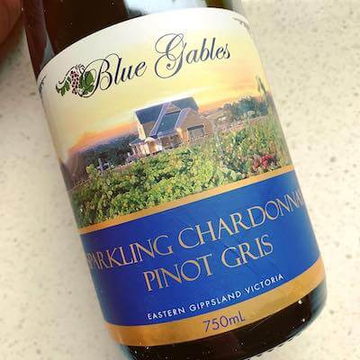 Blue Gables Sparkling Chardonnay Pinot Gris