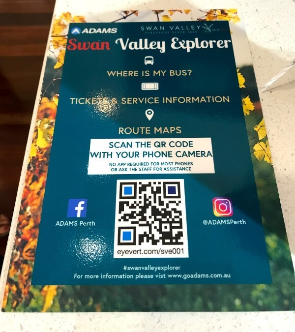 qr code for adams swan valley explorer