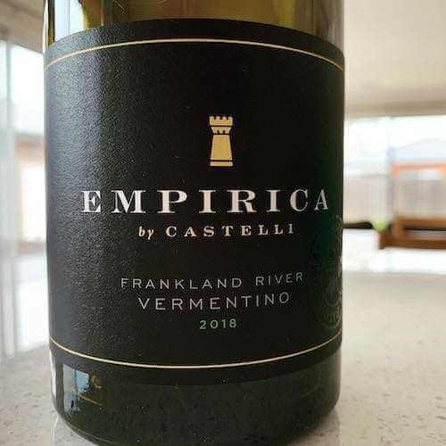 Empirica by Castelli Estate Wines 2018 Vermentino