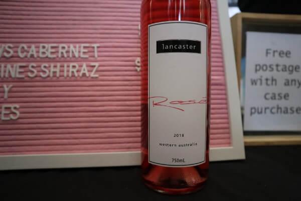 bottle of lancaster rose