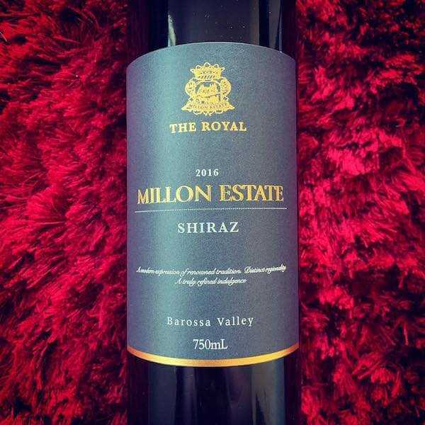 Millon Estate The Royal 2016 Shiraz
