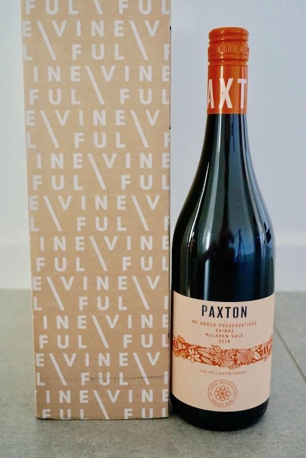 Paxton Pollinator Preservative Free Shiraz 2018 - Vineful