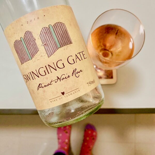 Swinging Gate 2016 Pinot Noir Rose - Wine of Tasmania