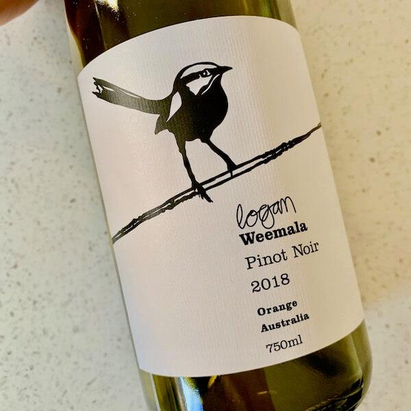 Logan Wines Weemala 2018 Pinot Noir - Orange