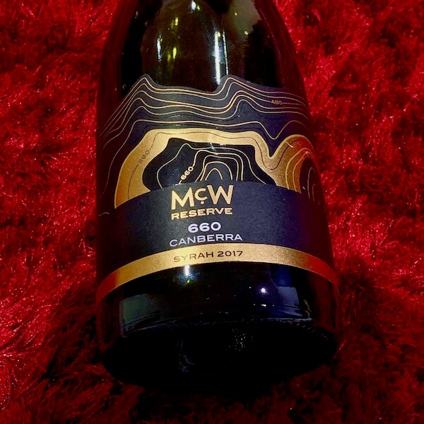 McWilliams McW Reserve 660 Canberra Syrah 2017
