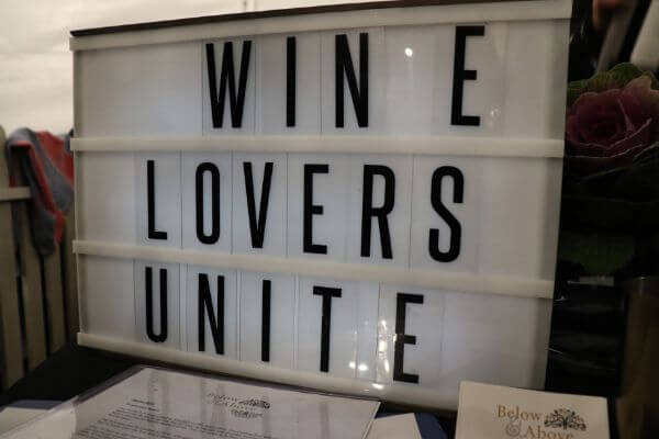 wine lovers unite at below and above winery at city wine yagan square perth