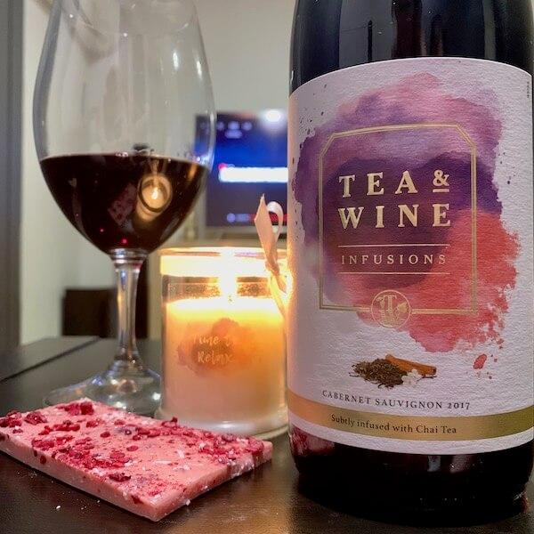 Tea and Wine Infusions - 2017 Cabernet Sauvignon with Chai Tea