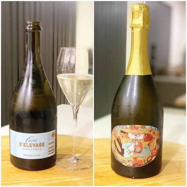 Wills Domain Cuvee d'Elevage Chardonnay Pinot Noir Sparkling