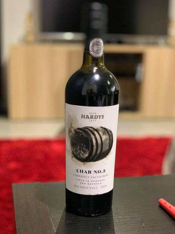 Hardy's Char No.3 Cabernet Sauvignon