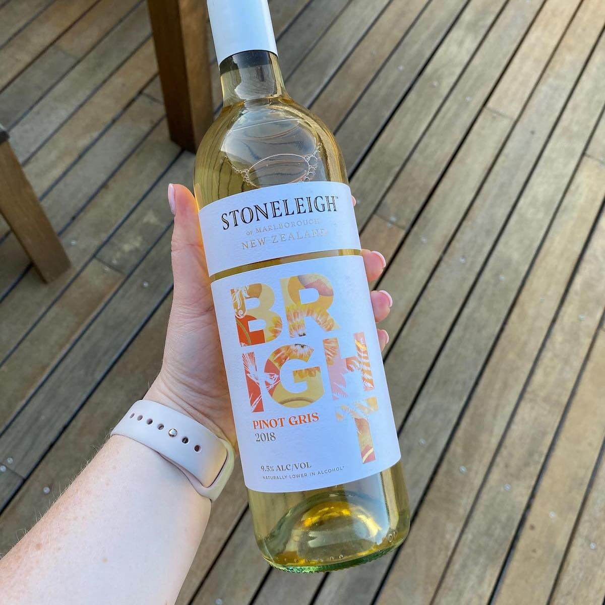 Stoneleigh Bright 2018 Pinot Gris - Lower in Alcohol Wine