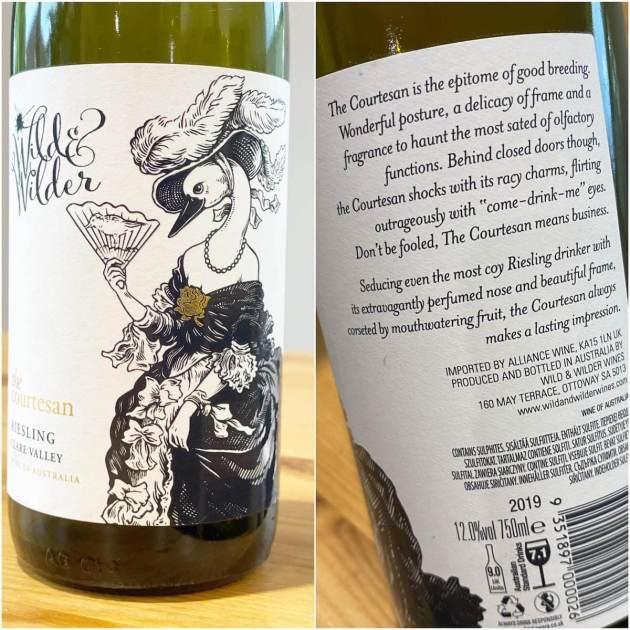 Wild & Wilder Wines 'The Courtesan' 2019 Riesling
