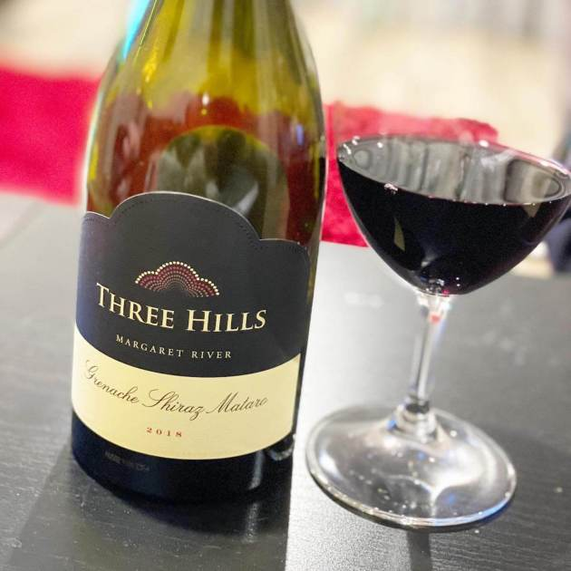 Happs Three Hills 2018 GSM (Grenache Shiraz Mataro)