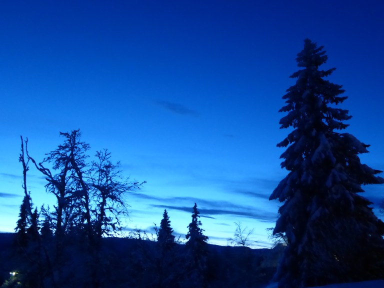 norway blue sky